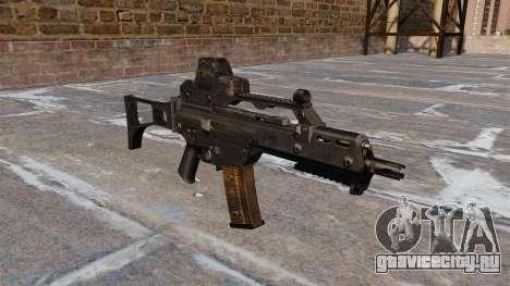 Автомат HK G36C для GTA 4