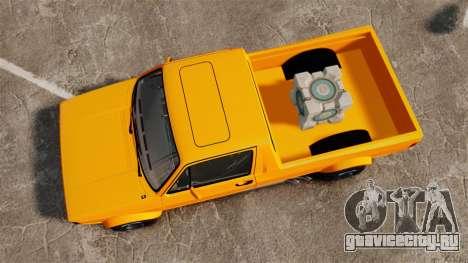 Volkswagen Caddy для GTA 4 вид справа