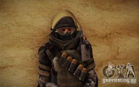 COD MW3 Heavy Commando для GTA San Andreas шестой скриншот