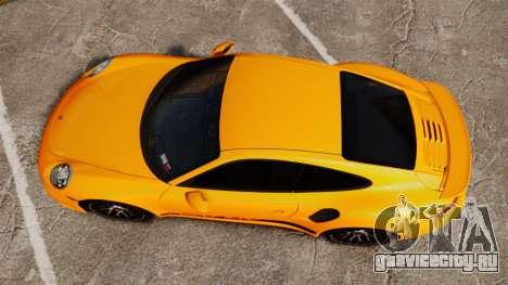 Porsche 911 Turbo 2014 [EPM] Turbo Side Stripes для GTA 4 вид справа