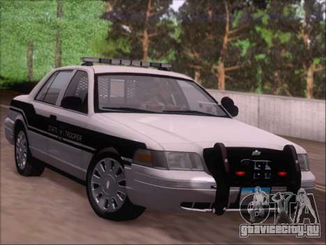 Ford Crown Victoria San Andreas State Trooper для GTA San Andreas