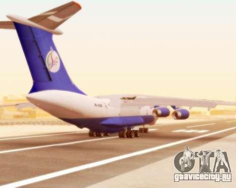 Ил-76ТД Silk Way для GTA San Andreas вид справа