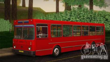ЛиАЗ 5256.00 Скин-пак 4 для GTA San Andreas вид сверху