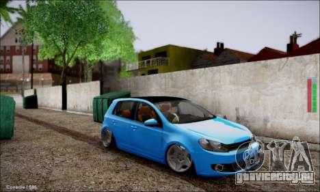 Volkswagen mk6 Stance Work для GTA San Andreas