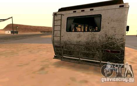 Journey из GTA 5 для GTA San Andreas вид сзади слева