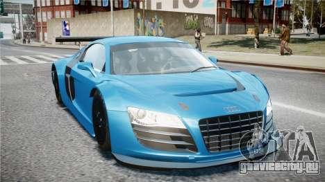 Audi R8 LMS для GTA 4