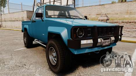 Karin Rebel 4x4 v2.0 для GTA 4