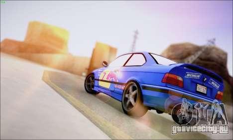 Reflective ENBSeries v1.0 для GTA San Andreas третий скриншот