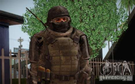 COD MW3 Heavy Commando для GTA San Andreas второй скриншот