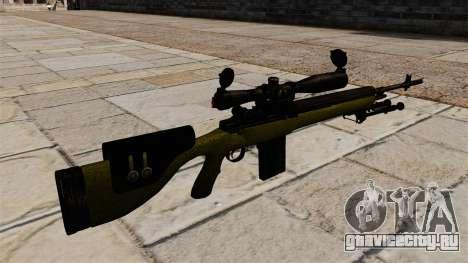 Cнайперская винтовка M14 DMR для GTA 4 второй скриншот