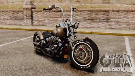 Harley-Davidson Knucklehead v2 для GTA 4