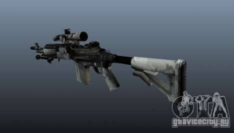 Снайперская винтовка M21 Mk14 v1 для GTA 4 второй скриншот
