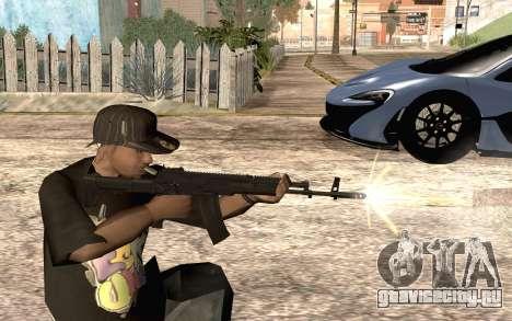 AK12 для GTA San Andreas четвёртый скриншот