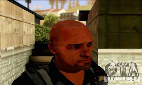 Сэм из Far Cry 3 для GTA San Andreas третий скриншот