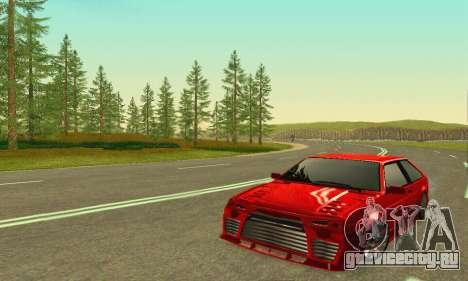 ВАЗ 2108 Aarr Style для GTA San Andreas вид слева
