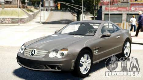 Mercedes-Benz SL65 2007 для GTA 4