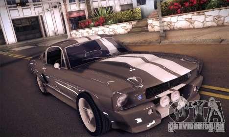 Shelby GT500 E v2.0 для GTA San Andreas вид слева