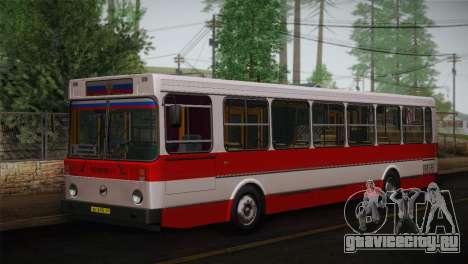 ЛиАЗ 5256.00 Скин-пак 3 для GTA San Andreas вид справа