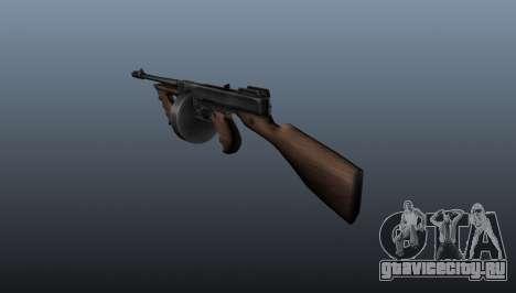 Пистолет-пулемёт Thompson M1928 для GTA 4 второй скриншот