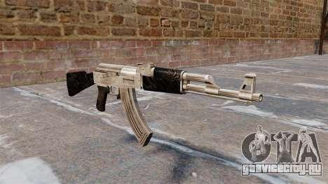 Автомат AK-47 обновлённый для GTA 4