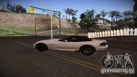 Dodge Viper SRT-10 Roadster для GTA San Andreas вид справа