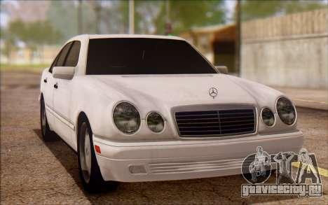 Mercedes-Benz E420 v2.0 для GTA San Andreas вид слева
