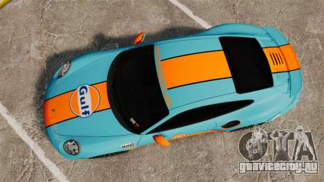Porsche 911 Turbo 2014 [EPM] Gulf для GTA 4 вид справа