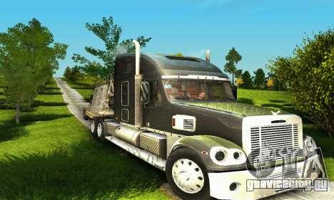 Freightliner Coronado для GTA San Andreas вид сзади