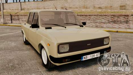 Zastava Yugo 128 для GTA 4