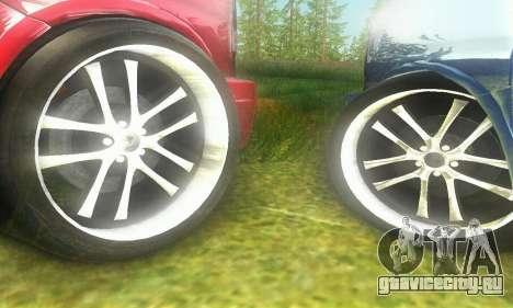 GMC Savana для GTA San Andreas вид сзади