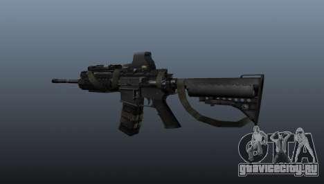 Автомат M4 SIRS Sopmod для GTA 4 второй скриншот