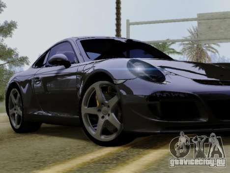 RUF RGT-8 для GTA San Andreas вид изнутри