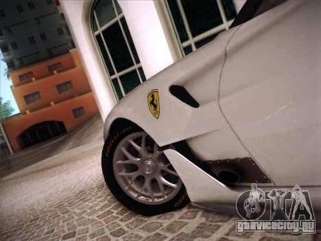 Ferrari 599XX 2012 для GTA San Andreas салон