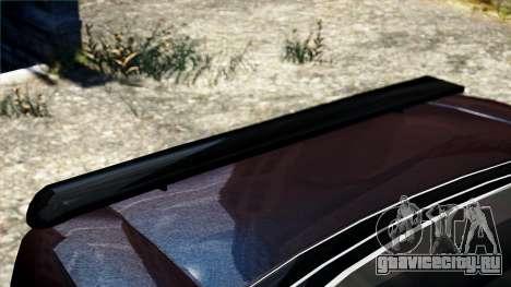 Hunter Cavalry из Burnout Paradise для GTA 4 вид справа