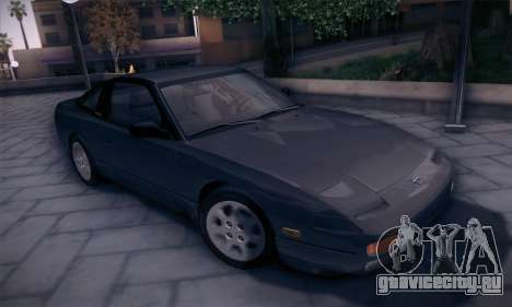 Nissan 240SX 1991 Tunnable для GTA San Andreas вид слева