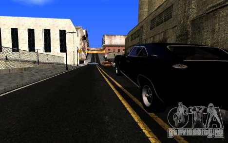 ENBSeries v3 для GTA San Andreas второй скриншот