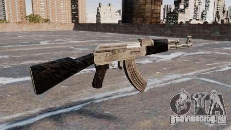 Автомат AK-47 обновлённый для GTA 4 второй скриншот