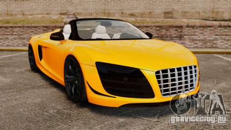 Audi R8 GT Spyder для GTA 4