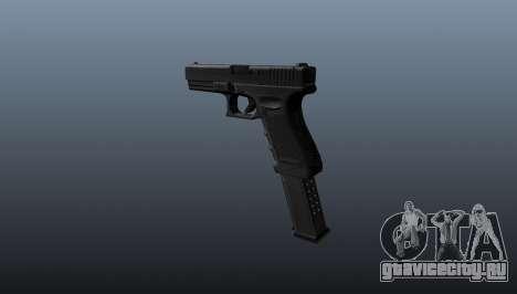 Автоматический пистолет Glock 18 для GTA 4 второй скриншот