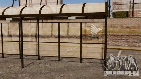 Автобусные остановки Naruto для GTA 4 шестой скриншот