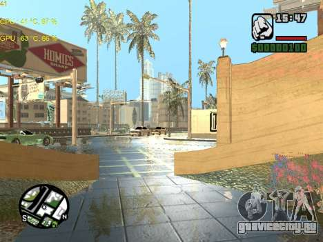 SA Render Public-Beta v0.1 для GTA San Andreas третий скриншот