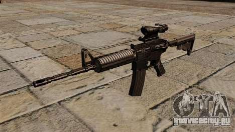 Автоматический карабин M4A1 ACOG для GTA 4