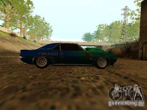Chevrolet Camaro z28 Falken edition для GTA San Andreas вид справа