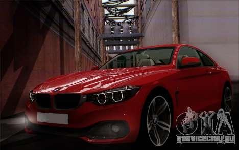 BMW 435i для GTA San Andreas