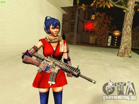 Juliet Starling для GTA San Andreas третий скриншот