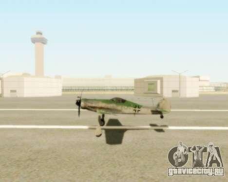 Focke-Wulf FW-190 D12 для GTA San Andreas вид справа