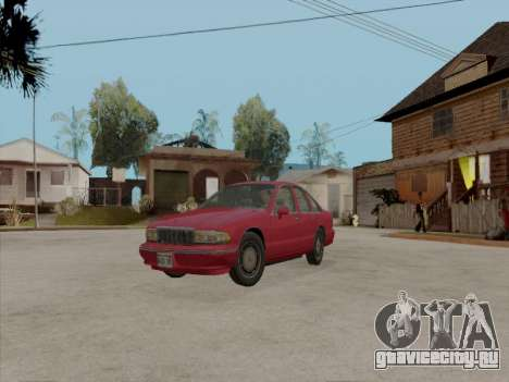 Chevrolet Caprice 1991 для GTA San Andreas
