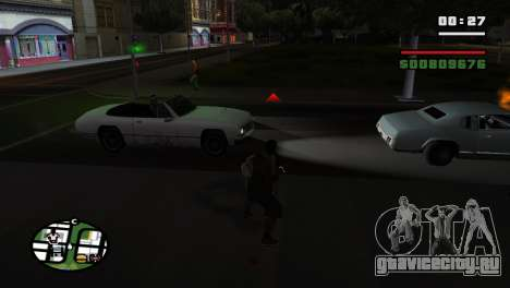 Кастет для GTA San Andreas пятый скриншот