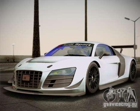 Audi R8 LMS Ultra v1.0.1 DR для GTA San Andreas вид слева