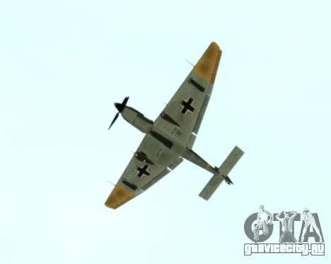 Junkers Ju-87 Stuka для GTA San Andreas вид сзади